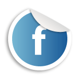 Facebook stamp logo
