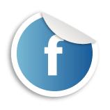 Facebook stamp logo
