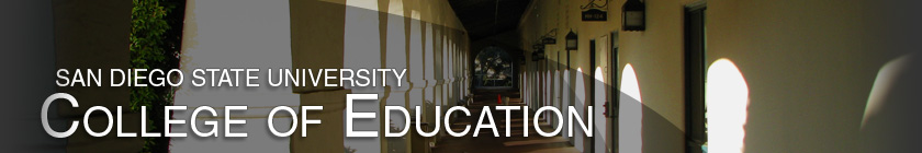 College of Education - Header image