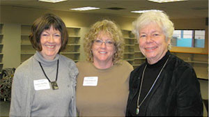 Karen Moffitt, Katie Pedersen, and Ann MacDonald